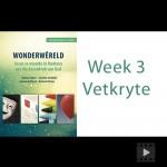 Wonderwereld Vetkryte Week 3