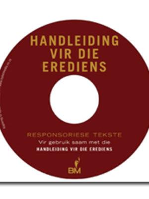 Handleiding vir die erediens CD