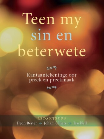 Teen my sin en beterwete (e-Boek)