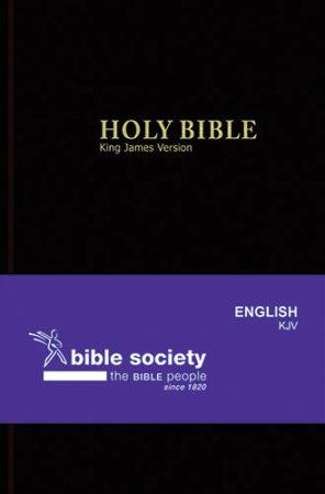 BIBLE ENG KJV STD BLACK