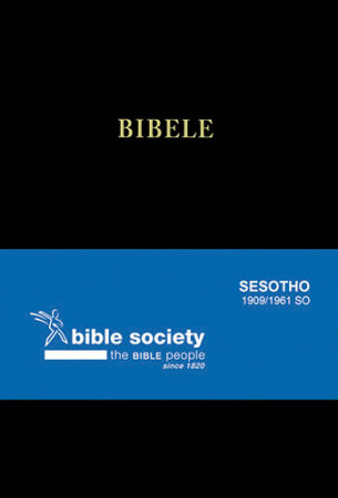 BIBLE SSOTHO 1909 SO STD BLACK