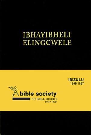 BIBLE ZULU 1893 STD BLACK