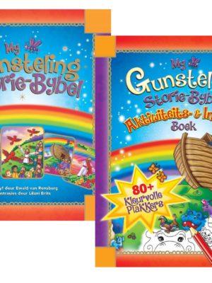 My Gunsteling Storie-Bybel + Aktiwiteits- & Inkleurboek Pakket