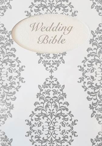 NIV Wedding Bible Range Silver