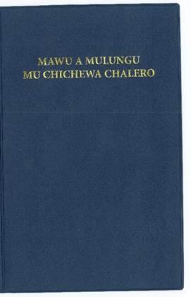 Vernacular BiblesChichewa Navy Ninyl