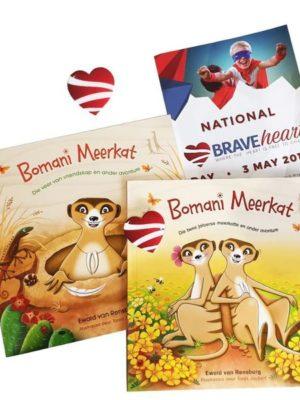 Bomani Meerkat project Brave heart Bundle Afrikaans