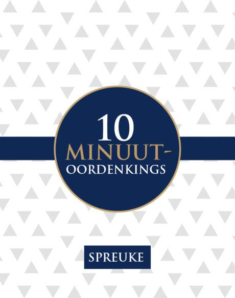 Spreuke 10 minuut