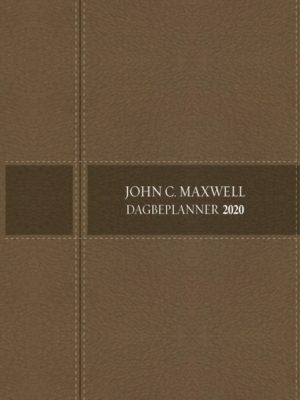 John C. Maxwell Dagbeplanner 2020 (A5 Luukse sagteband met ritssluiter) (Steen)