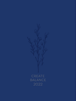Create Balance Women's Daily Planner 2022